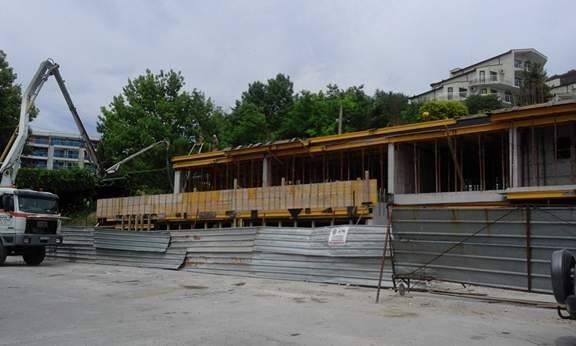 бетоновоз каварна