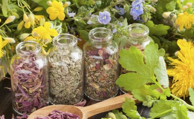 билки, треви, буркан, еньовден, Thinkstock/Guliver