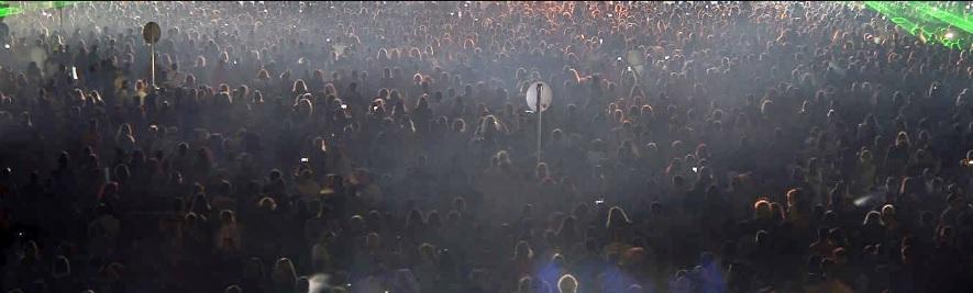 тълпа, концерт