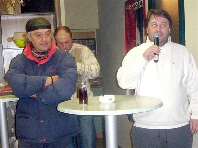 Чавдар Ангелов (вдясно) и Рубин Коцев, сн. Валентин Великов