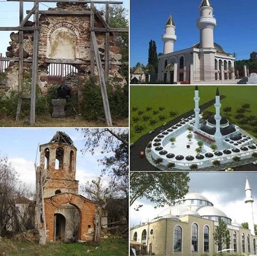 църкви, джамии