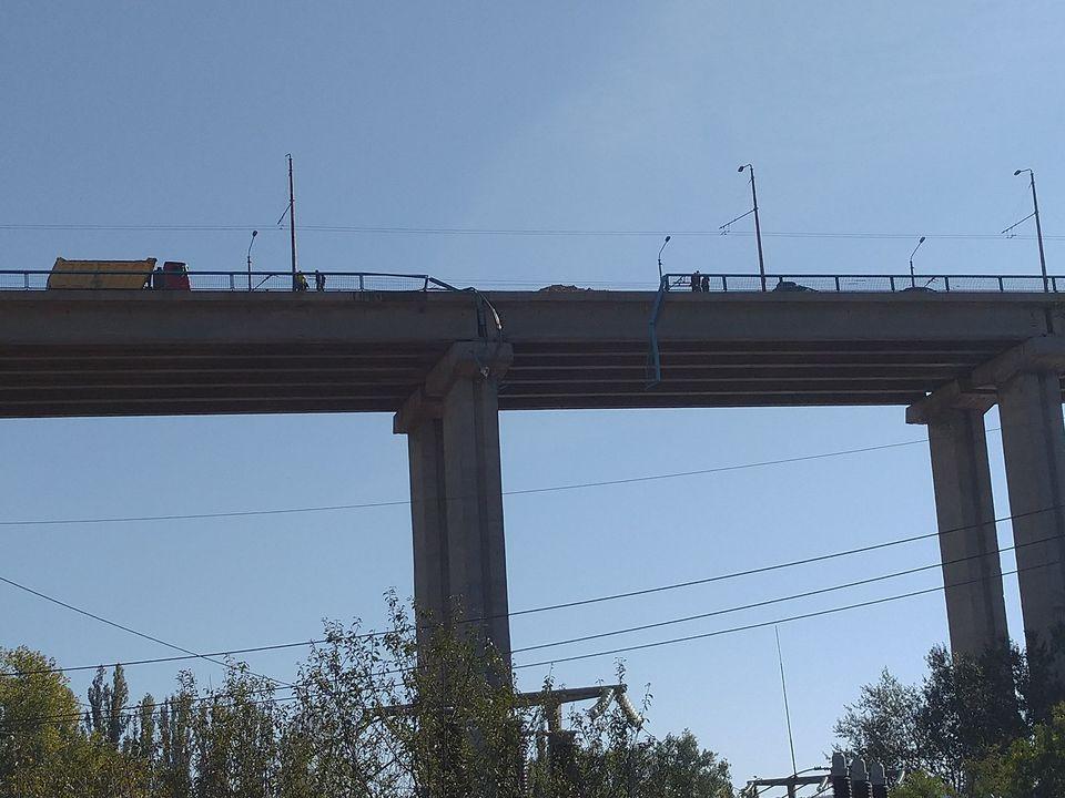 аспарухов мост, камион